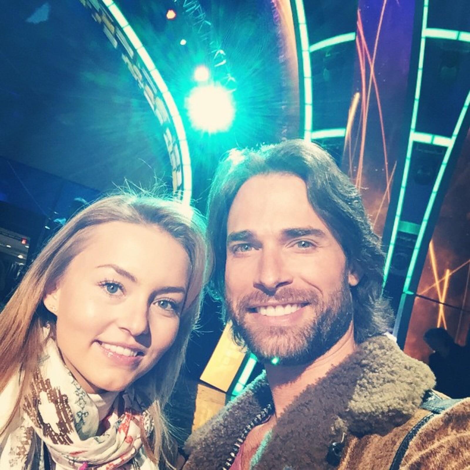 Desde ayer por la noche Angelique y Sebastián compartieron la emoción por su asistencia al Latin Grammy.