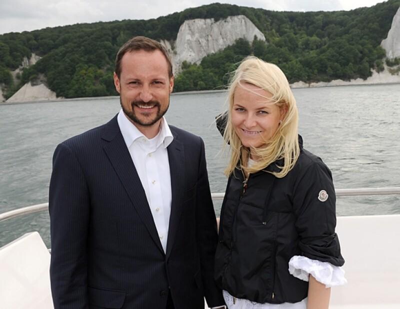 Haakon y Mette-Marit de Noruega.