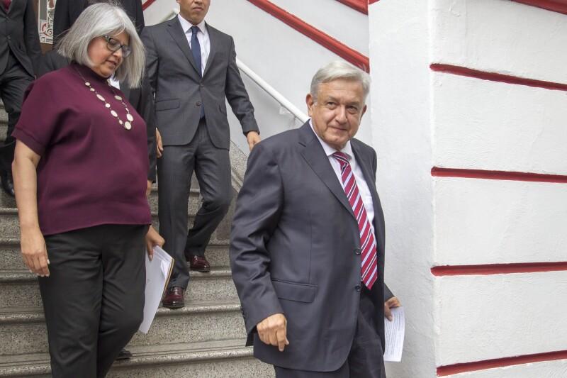 AMLO López Obrador Graciela Márquez petróleo fondo minero SE