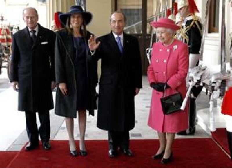 El presidente de México y su esposa llegaron este lunes al Reino Unido con motivo de la Visita de Estado, esta es la primera que realiza un mandatario mexicano desde 1985.