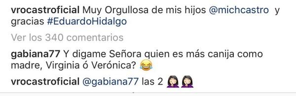 Verónica Castro en Instagram