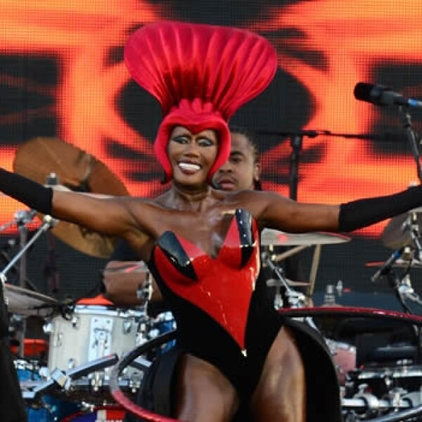 cantante jamaiquina Grace Jones