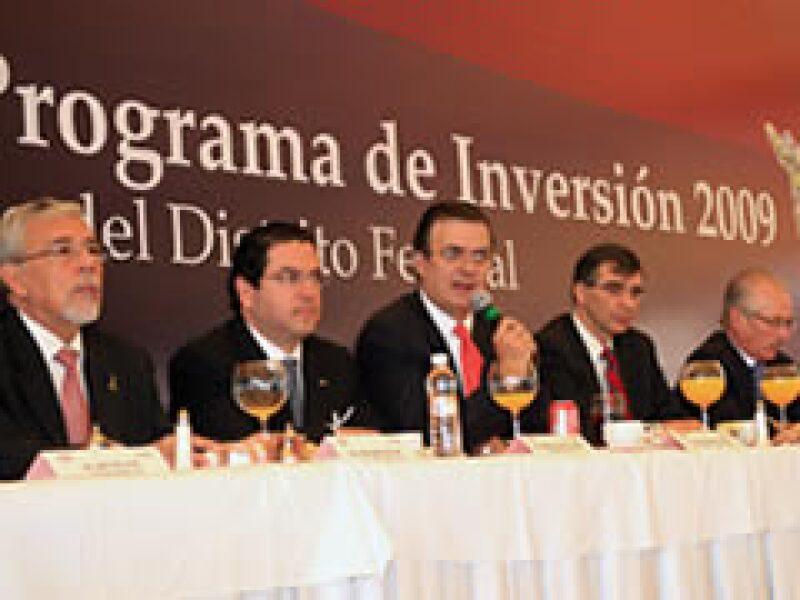Marcelo Ebrard en la CMIC. (Foto: Cortesía Gobierno del DF)