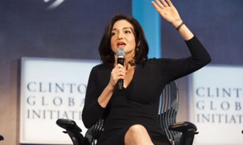 Sheryl Sandberg, directora operativa de Facebook, fue una de las ejecutivas tecnológicas mejor pagadas en 2013. (Foto: Getty Images)