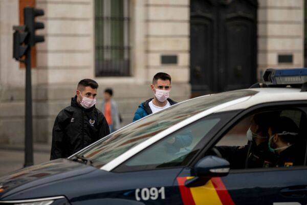 Madrid Experiences Highest Incidence Of Coronavirus In Spain
