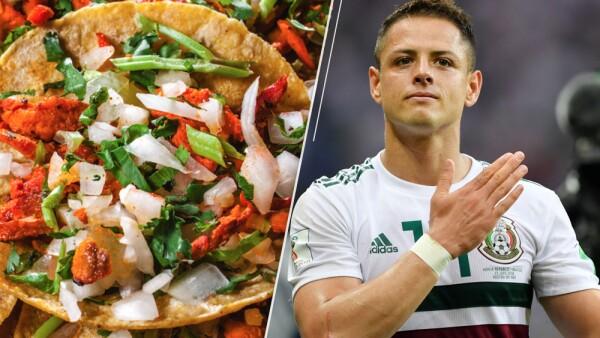 Selección Mexicana tacos