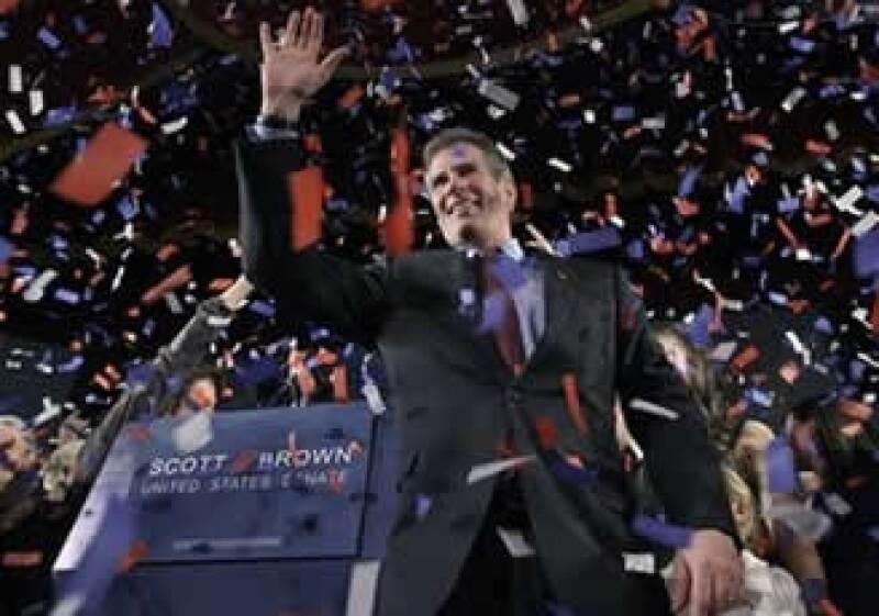 Brown expresó que la gente no quiere el plan de salud de un billón de dólares. (Foto: AP)
