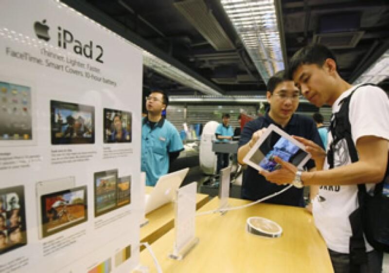 Este cambio es lo que la prensa denomina la nueva tienda Apple Store 2.0, donde la iPad será protagonista (Foto: AP)