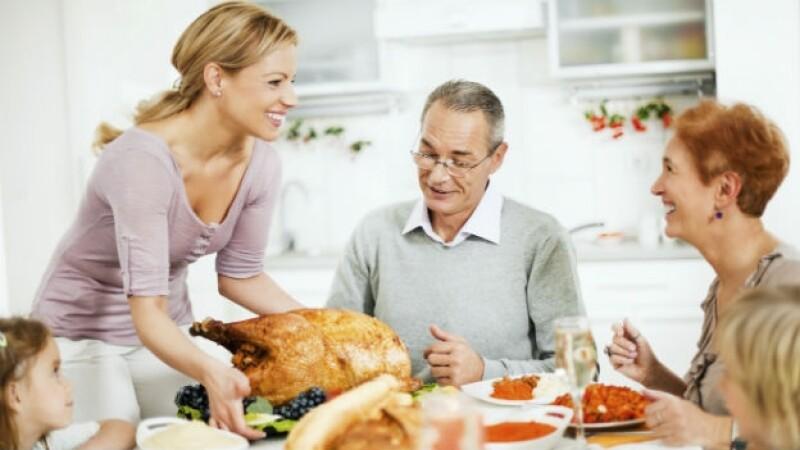 Rompe con la tradicional celebración del día de Acción de Gracias