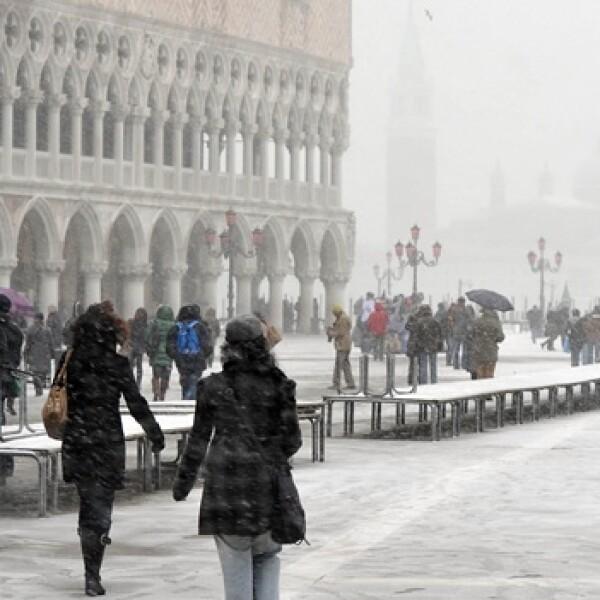 Italia - Venecia - nieve