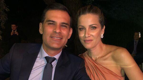 Rafael Márquez y Jaydy Michel