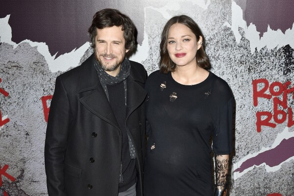 Guillaume Canet y marion cotillard