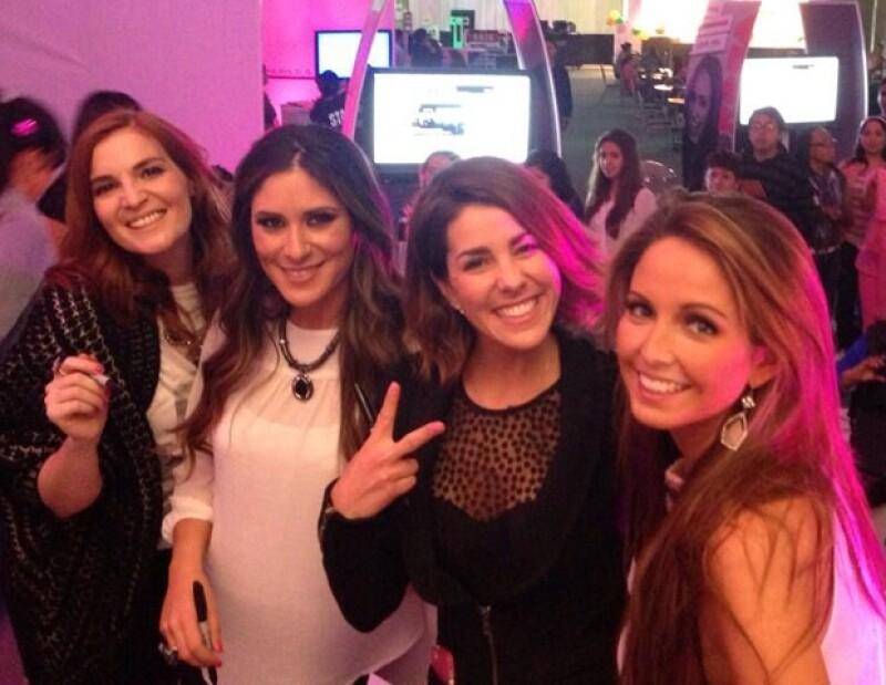 La ex Jeans. De izquierda a derecha: Angie, Melissa, Regina y Karla.