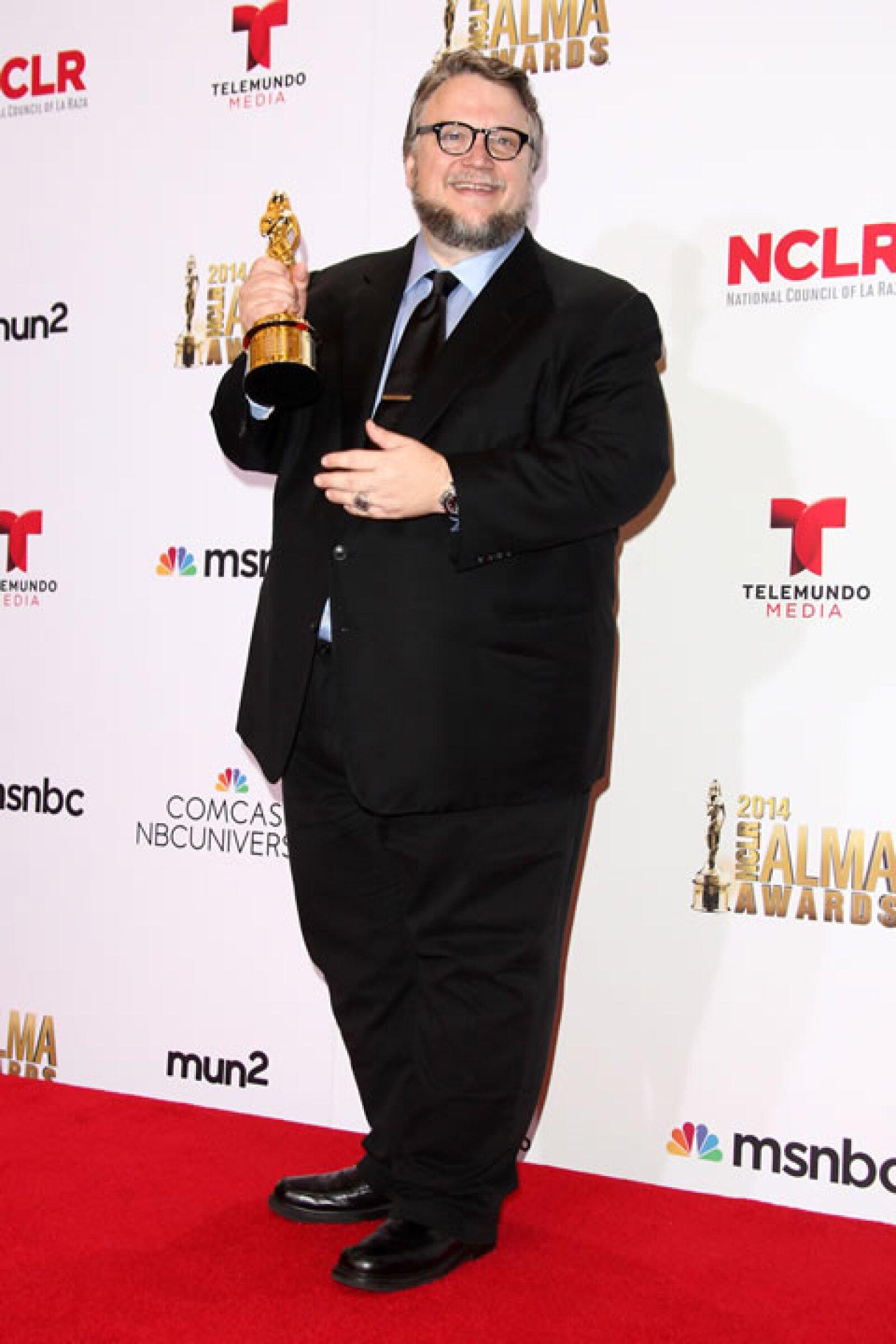 Guillermo del Toro ganó un reconocimiento por su excelencia en la industria cinematográfica.