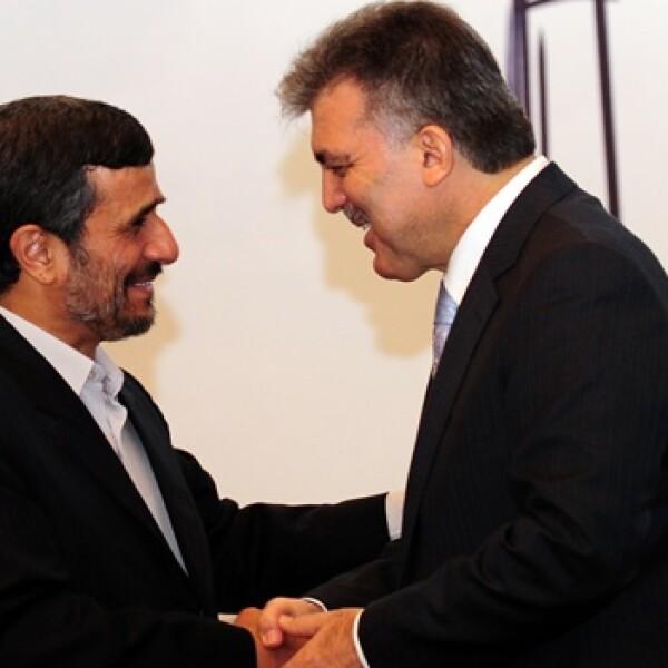 Irán y Turquía - presidentes