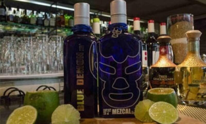 Mezcal blue demon