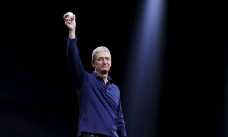 Tim Cook presentará un nuevo iPhone este miércoles. (Foto: Reuters)