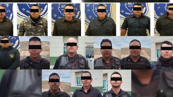 policías de Ciudad Madera, Chihuahua