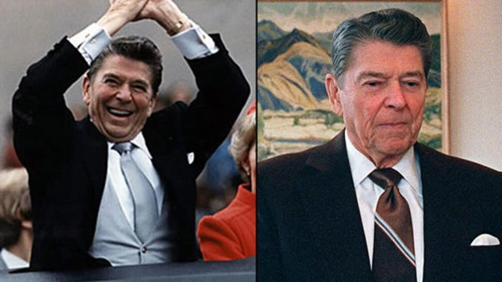EU - presidente - Ronald Reagan