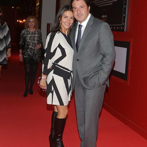 Marlenne Ferreti y Alejandro Hinojosa