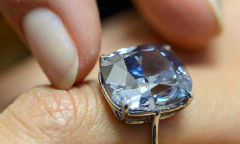 Este diamante es ahora el más caro del mundo. (Foto: EFE)