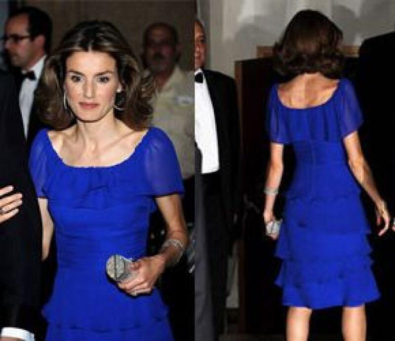 En 2008, en la entrega de Premios Mariano de Cavia lucía extremedamente delgada.