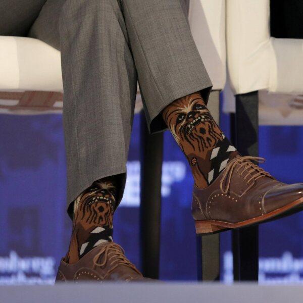 Chewbacca calcetines trudeau