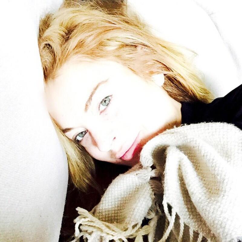 Lindsay publicó esta selfie hace solo unos días, por lo que su discusión con el hombre desconocido pudo haber sido la piedra en el zapato de sus vacaciones a la italiana.