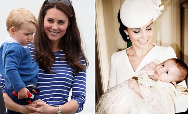 Asimismo el duque de Cambridge reconoció la labor de Kate como mamá.