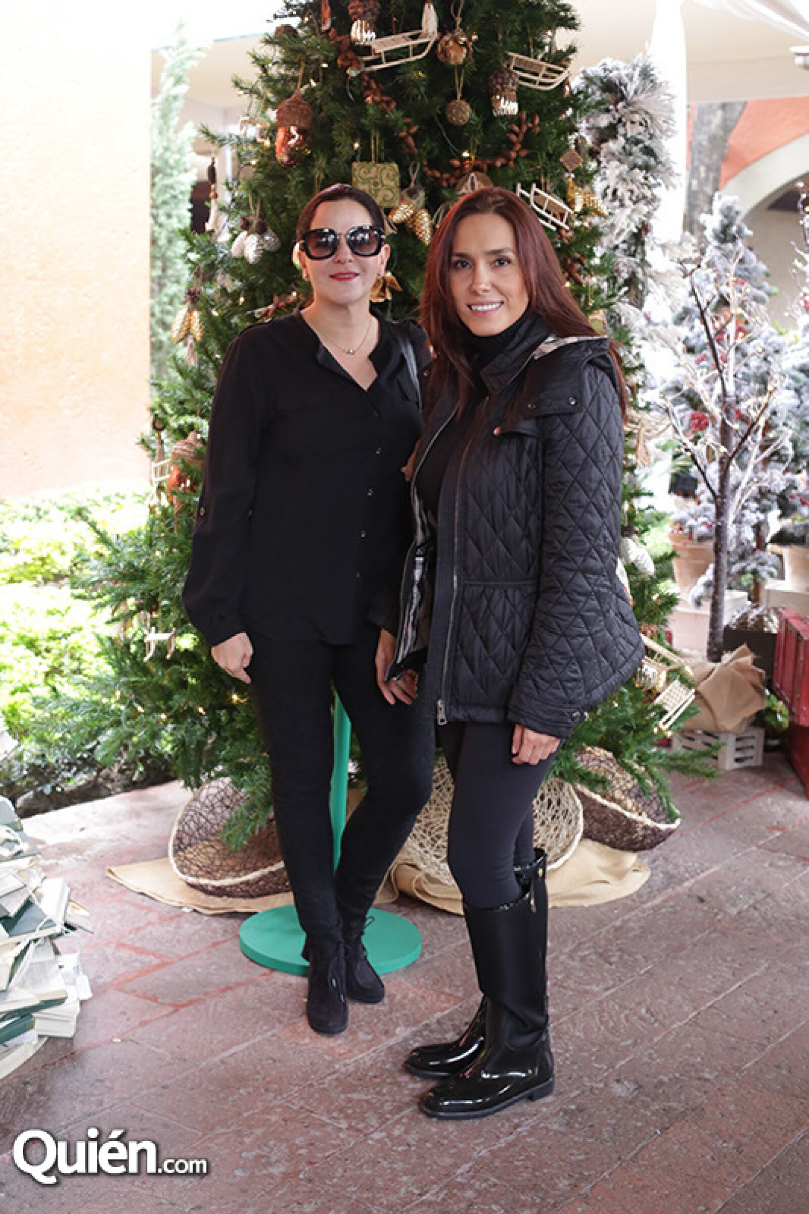 Carolina Martínez y Luisa Huerta