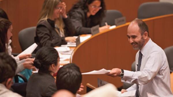 El IPADE ofrece un MBA de tiempo parcial y otro de tiempo completo que se imparte en inglés y permite a los alumnos estudiar tres meses fuera de México. (Foto: Adán Gutiérrez)