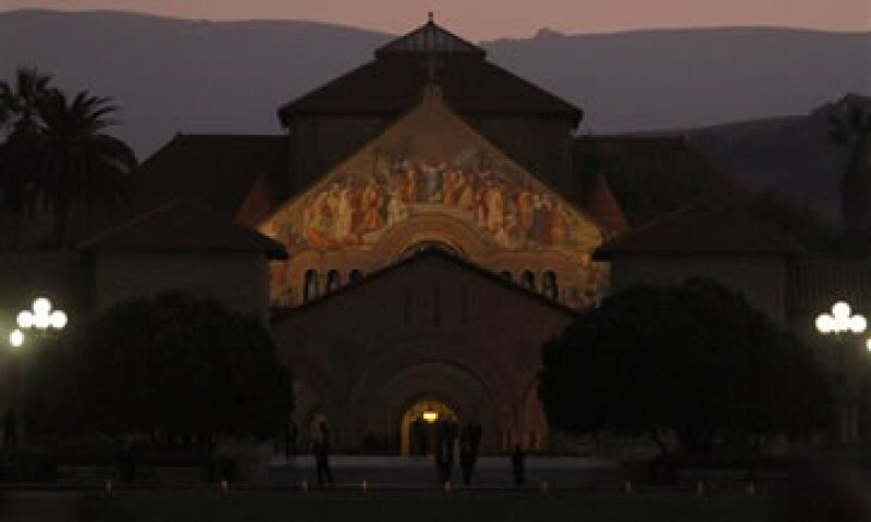 El evento se llevó a cabo en la Memorial Church de la Universidad de Stanford. (Foto: AP)