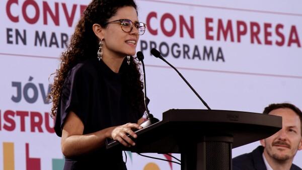 Luisa Alcalde huelga Matamoros