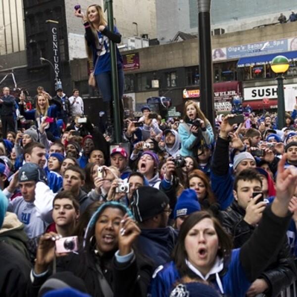 Gigantes Nueva York festejo