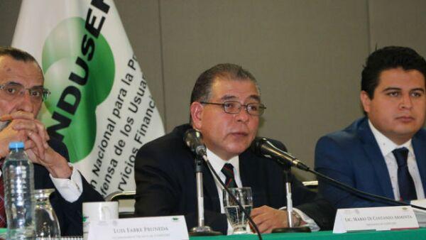 Mario Di Constanzo, presidente de la Condusef