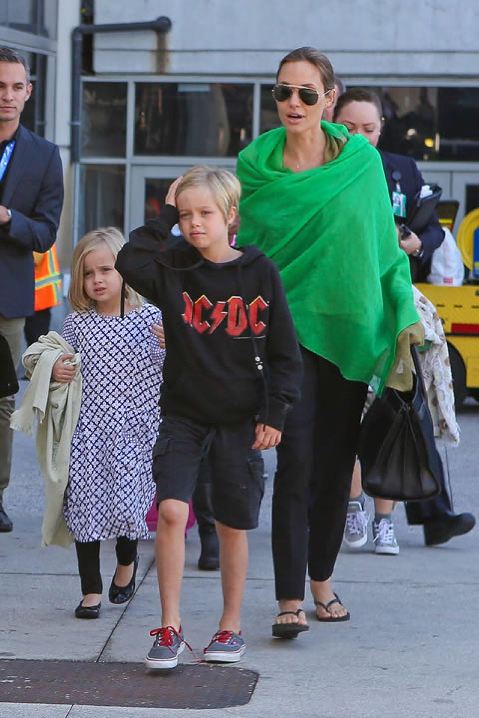 Shiloh Jolie-Pitt, por su irreverente estilo, no puede faltar en esta lista.