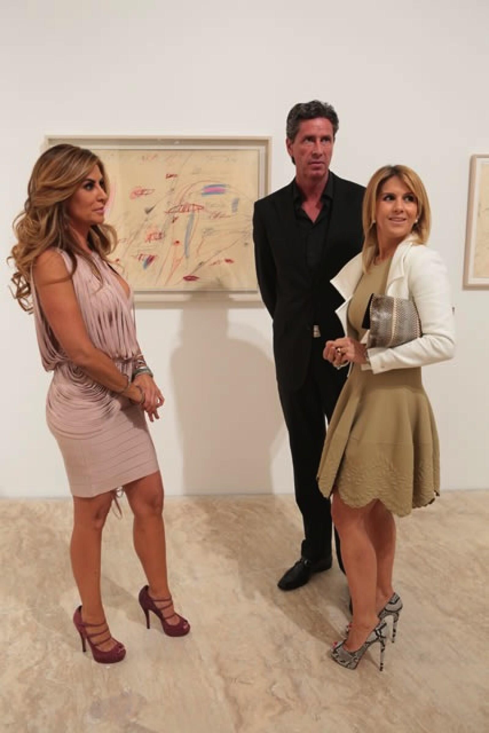 Alejandra Funtanet, Miguel Ortiz Monasterio y Lulú Creel.