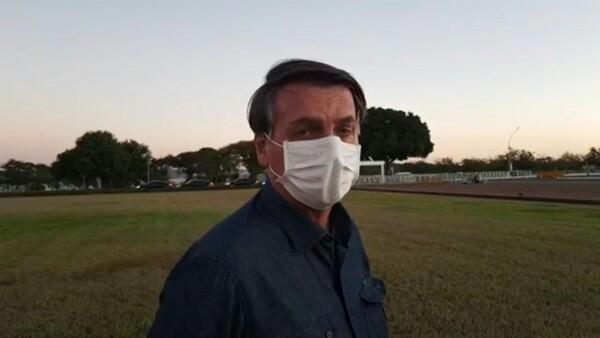 Jair Bolsonaro vuelve a dar positivo en un nuevo examen de coronavirus