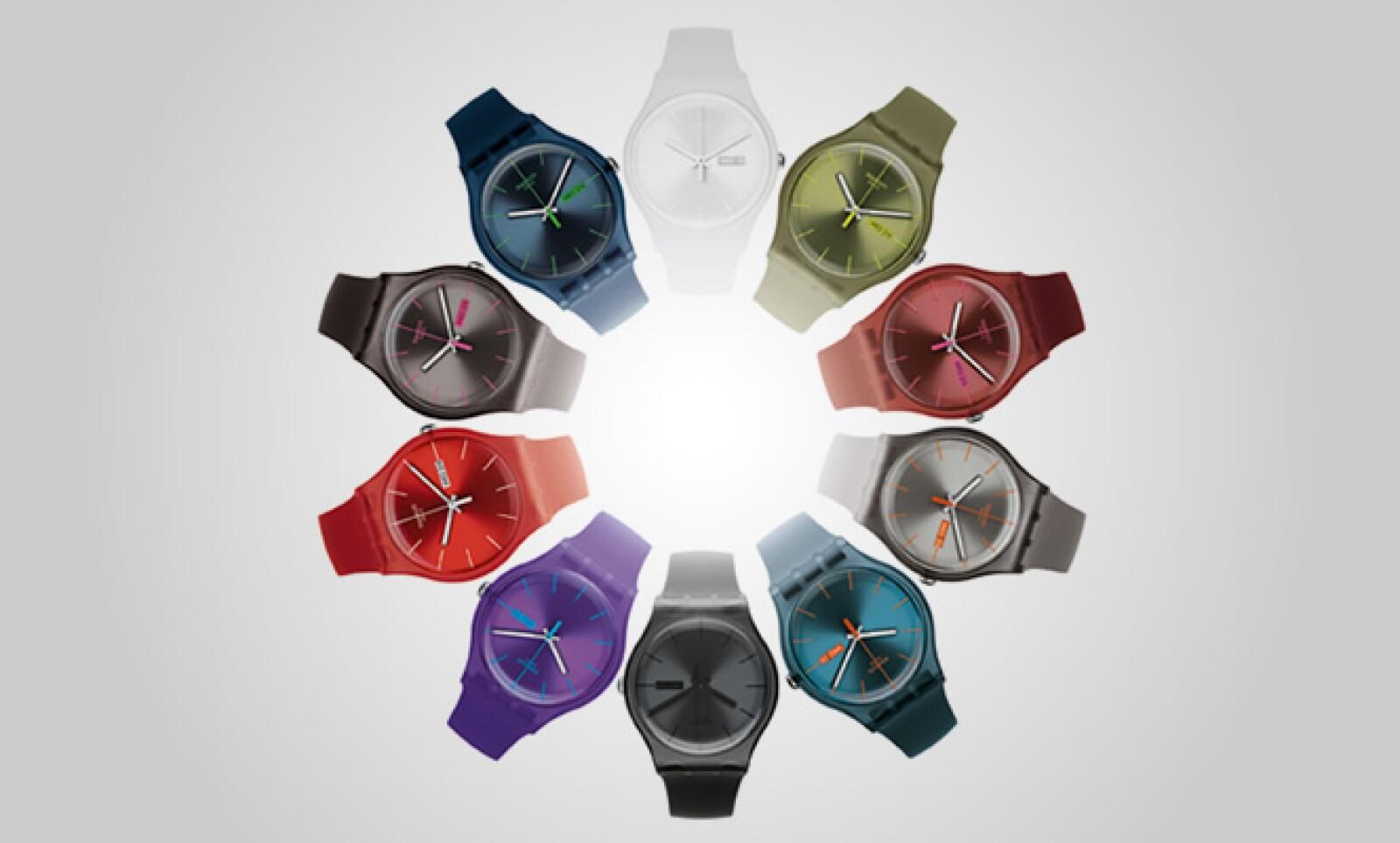 """La firma suiza de relojería casual presentó su colección otoño-invierno, titulada """"New Gent Collection""""."""