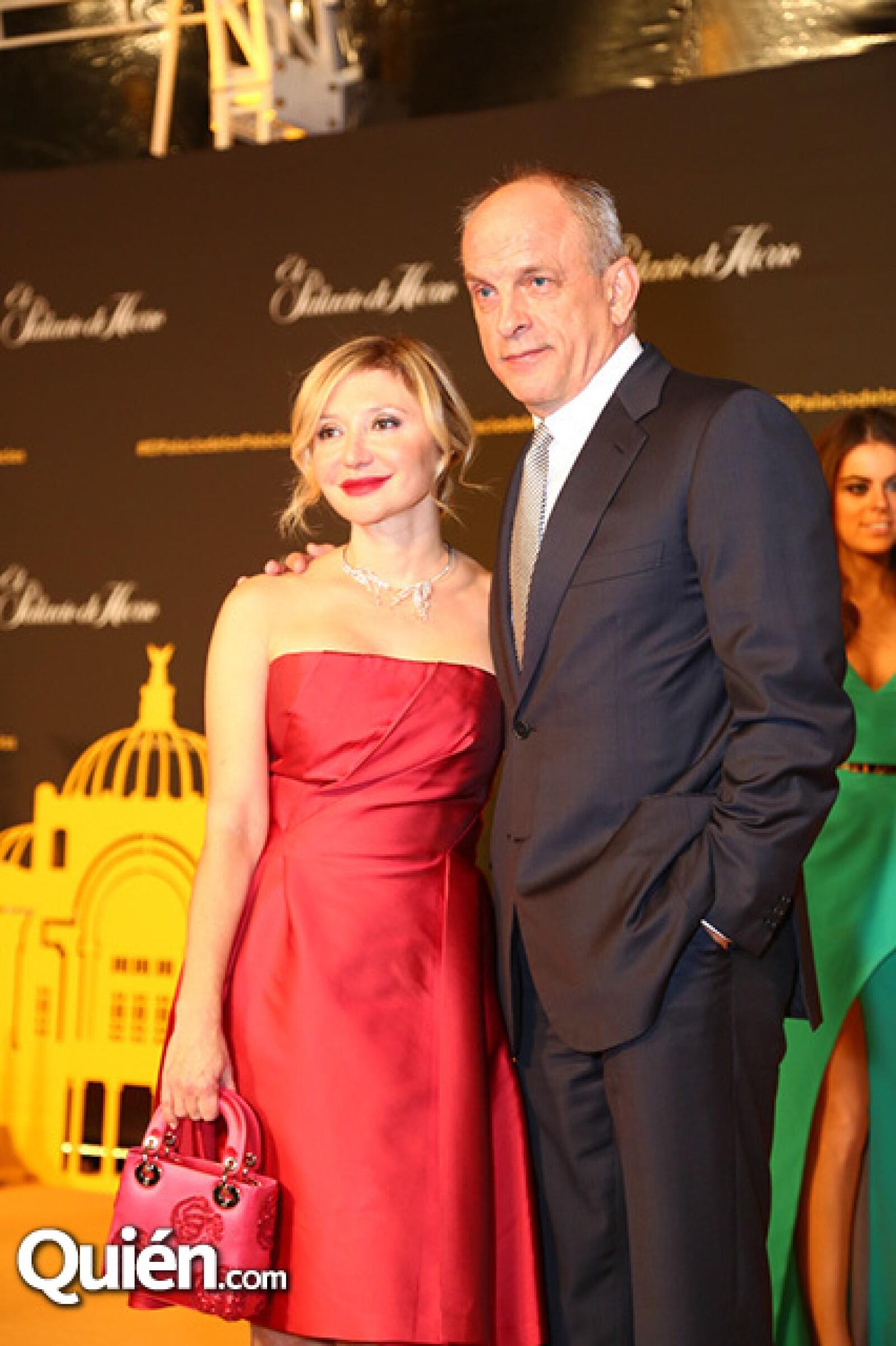Silvia Damiani y Tomas Arana
