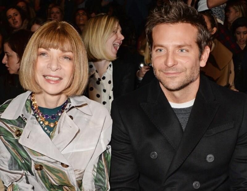 Anna Wintour y Bradley Cooper estuvieron en la primera fila.