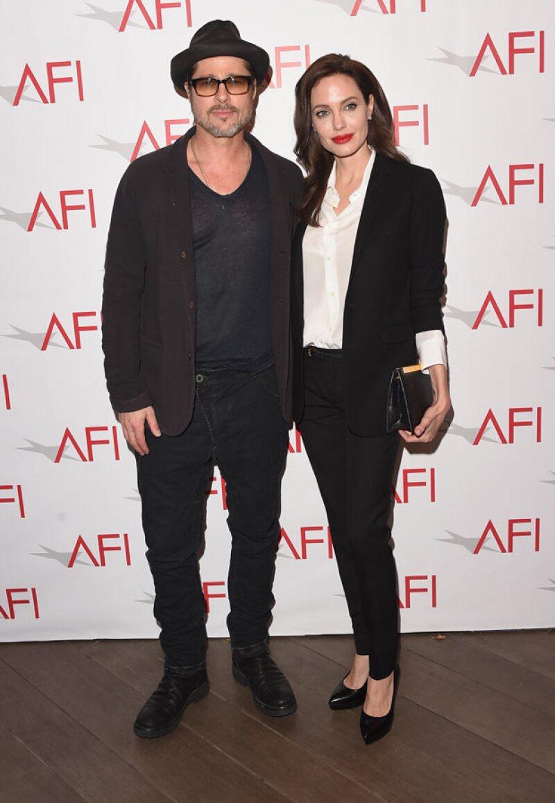 Angelina y Brad se encuentran felizmente casados y con una bella familia.