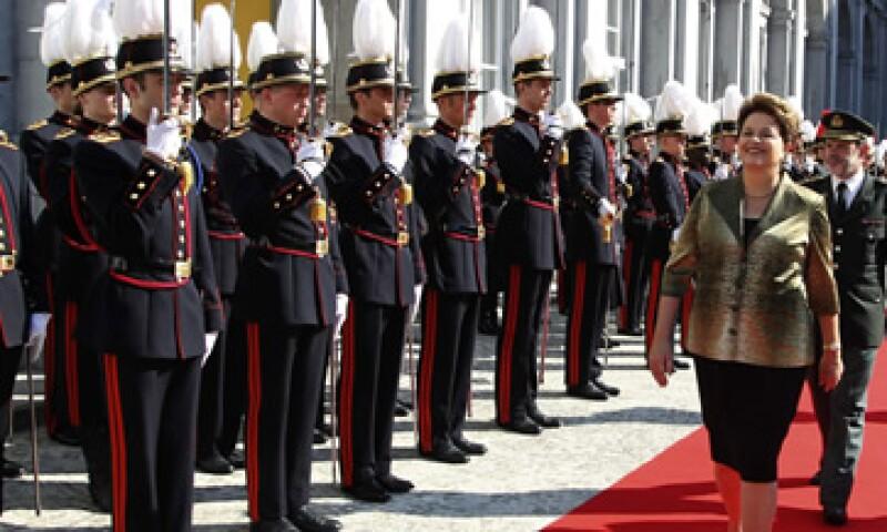 La presidenta Dilma Rousseff se encuentra en Bruselas para participar en la quinta cumbre UE-Brasil. (Foto: Reuters)