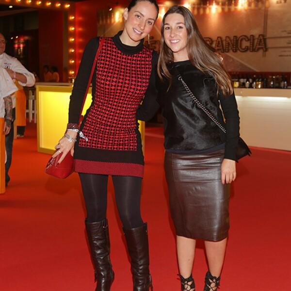 Julieta Parada y Maria Padilla