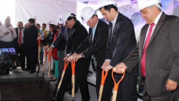 Colocan primera piedra del nuevo Parque Industrial de Vesta en Tlaxcala
