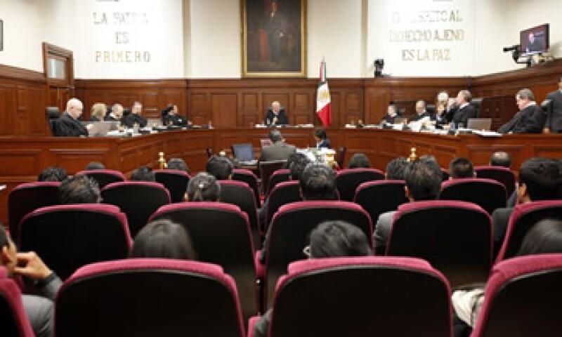 El Poder Judicial de la Federación ha logrado que el costo de los juicios se mantenga en el mismo rango. (Foto: Notimex)