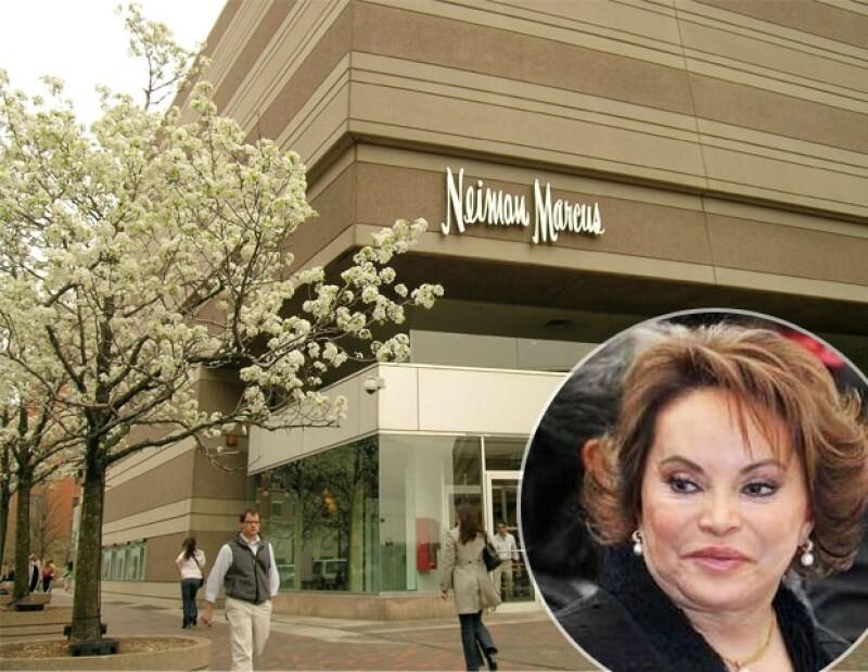 Neiman Marcus es su tienda favorita.
