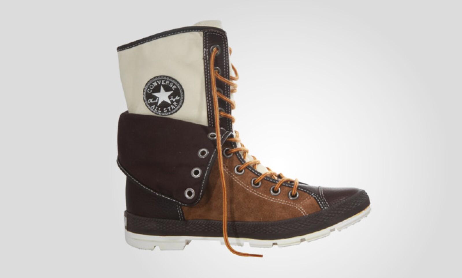 La marca estadounidense presentó su colección de botines para el otoño, con base en colores ocres y oscuros.