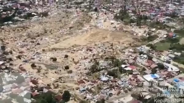 El suelo en Indonesia se hizo líquido con el terremoto del 28 de septiembre
