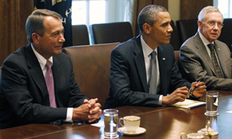 La encuesta reflejó el descontento por el jaloneo político entre Barack Obama y los legisladores republicanos. (Foto: Reuters)